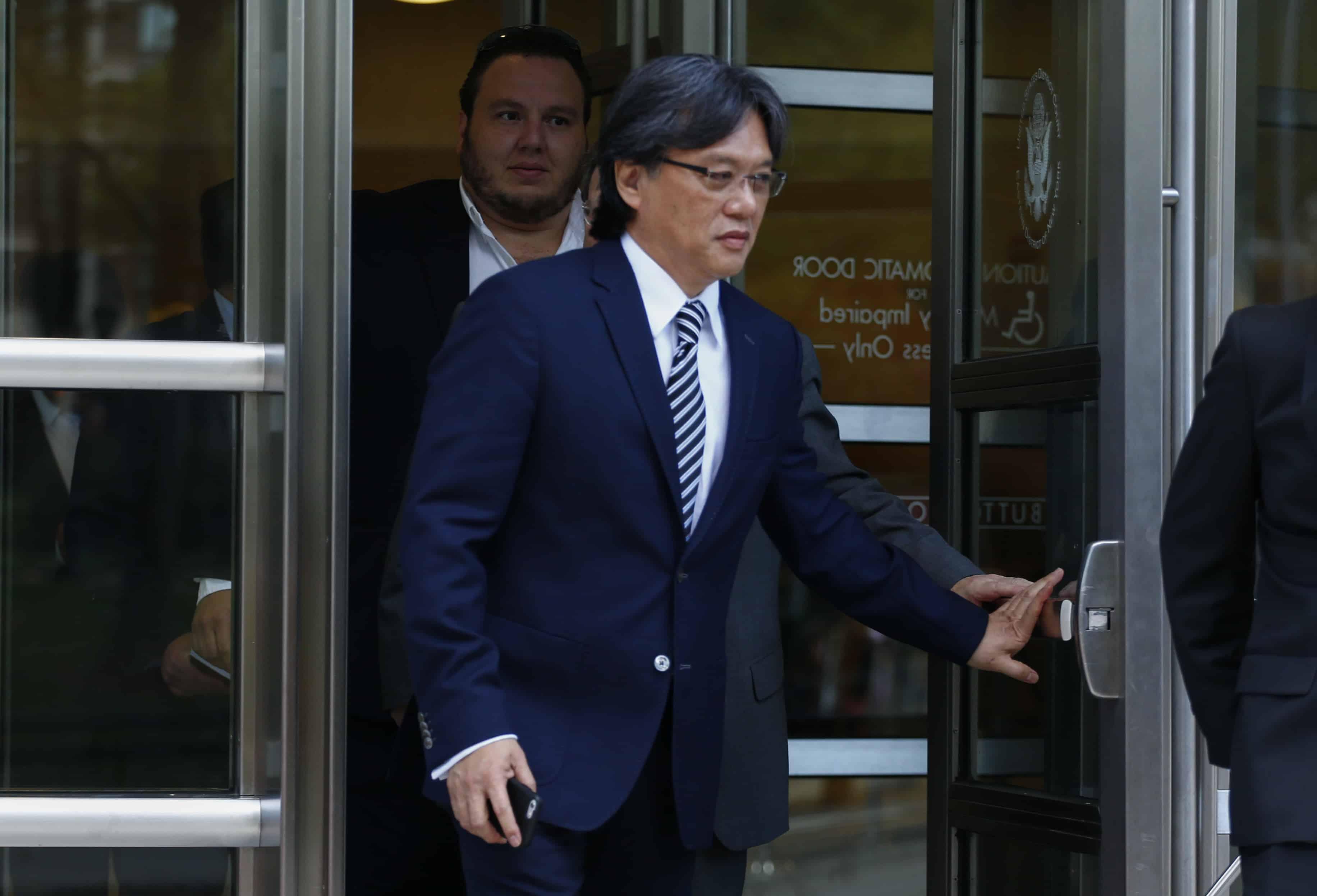 Eduardo Li, former head of Costa Rica's football federation.