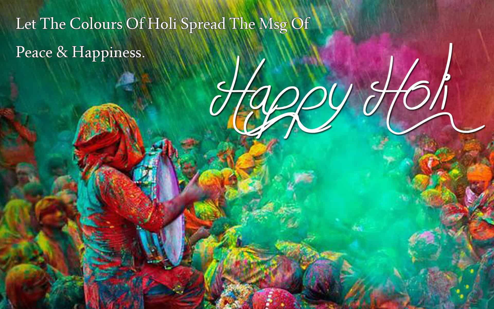 Come on, come all, to celebrate Holi in Costa Rica.