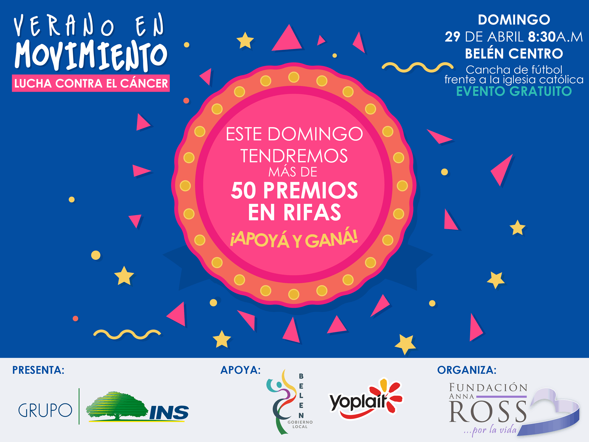 Raffle in Costa Rica to raise funds for cancer screening