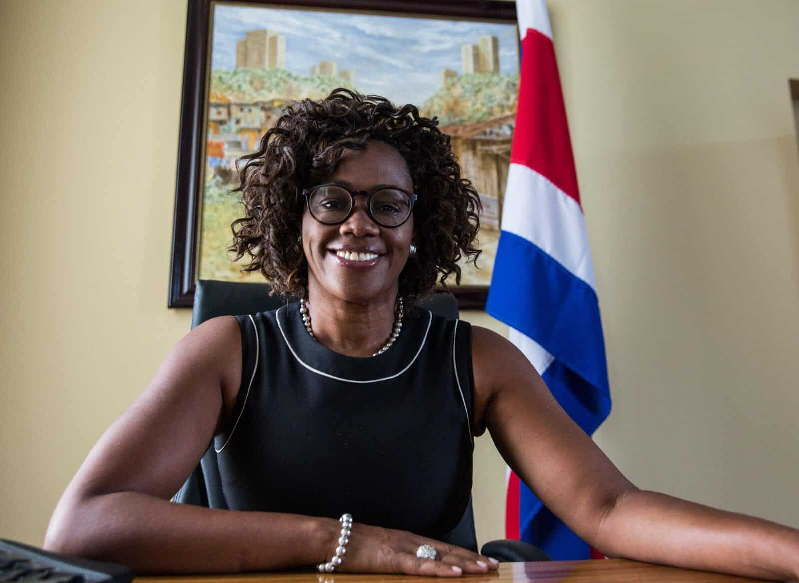 Costa Rican Vice President-elect Epsy Campbell on April 5, 2018.