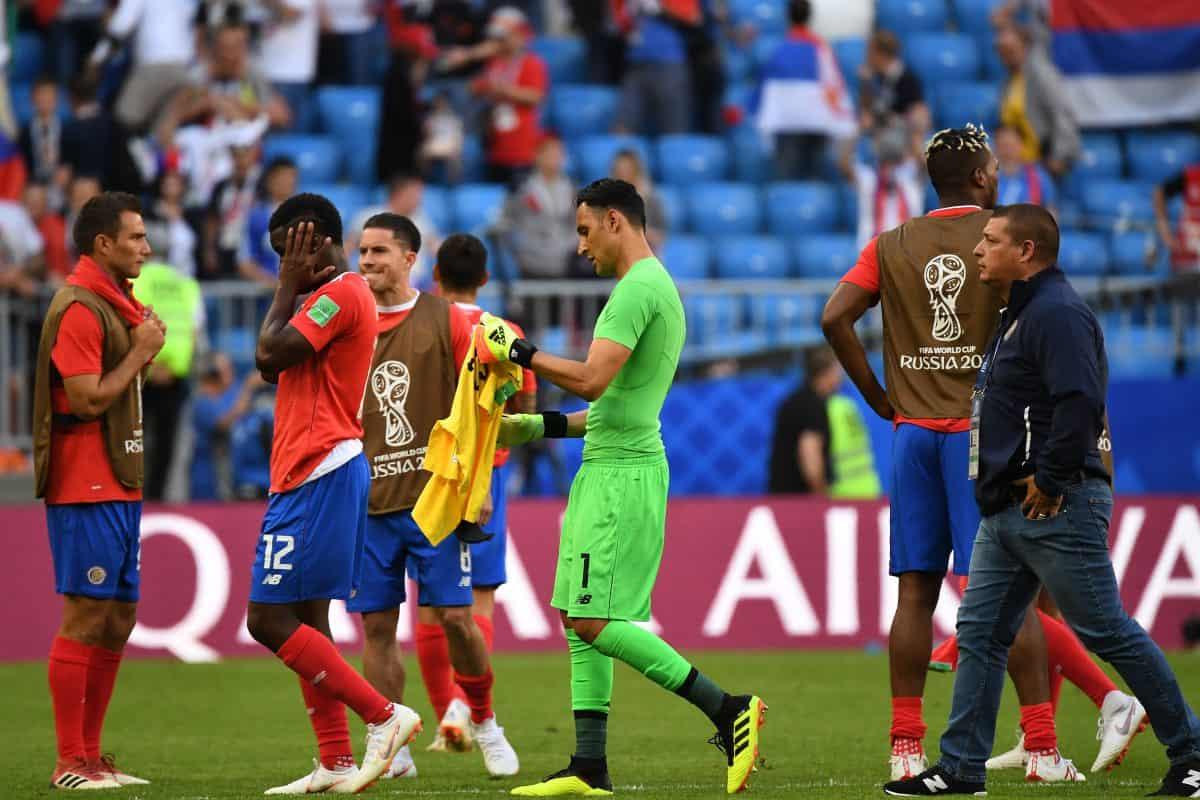 Keylor Navas at the 2018 World Cup