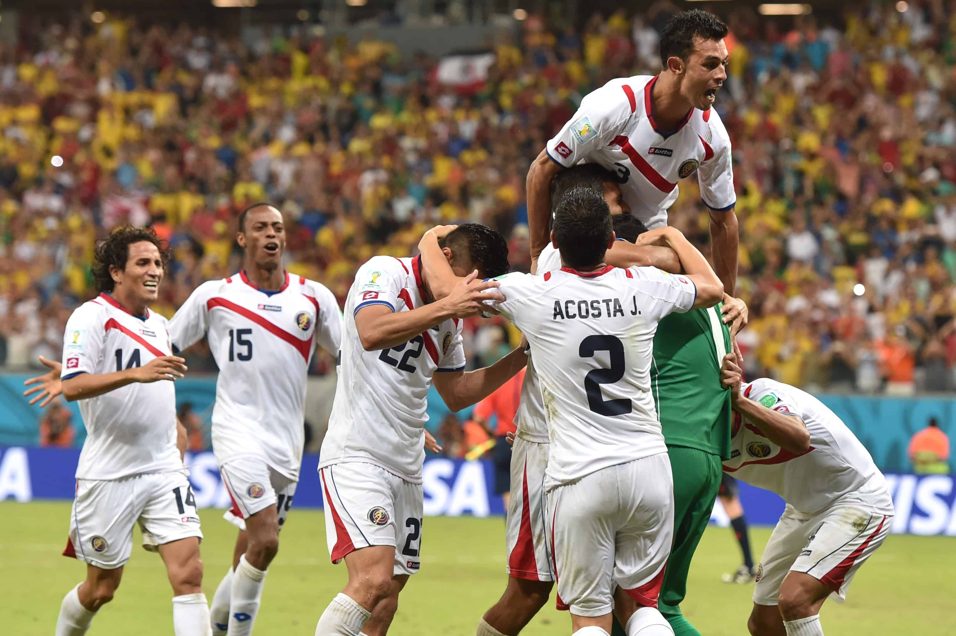Costa Rica at the 2014 World Cup.