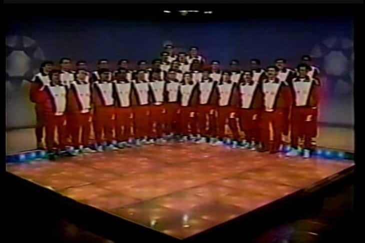 Costa Rica's La Sele 1990 onstage
