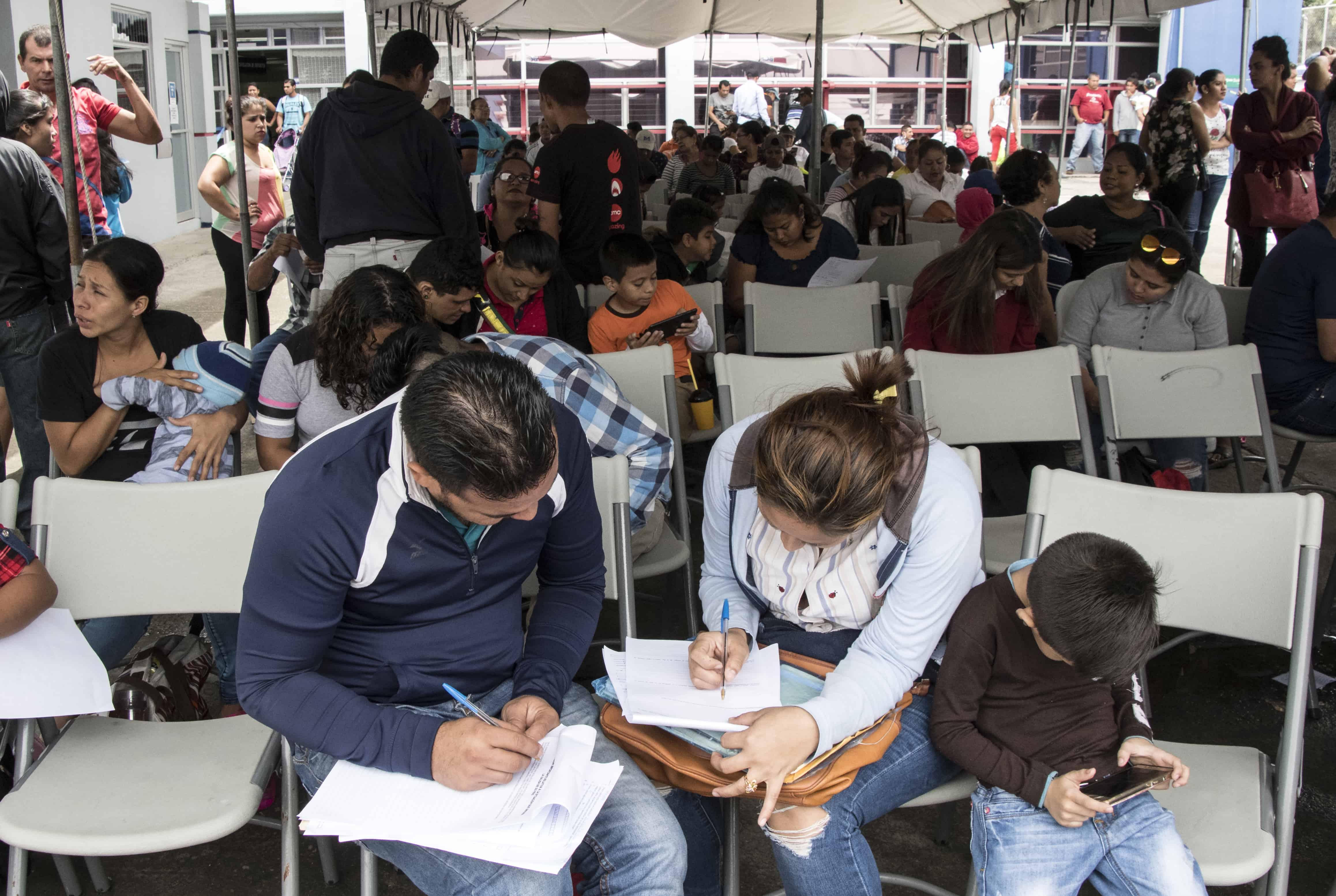Nicaragua refugee requests