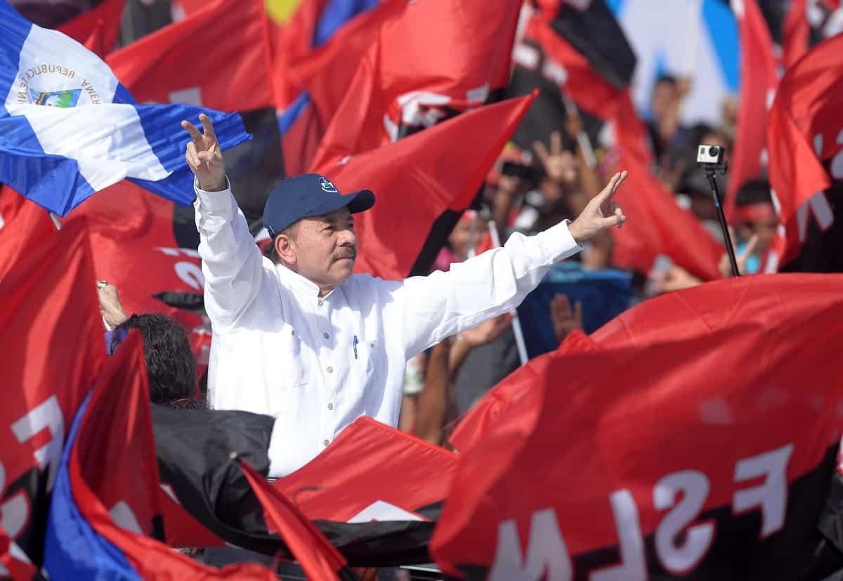 Nicaragua President Daniel Ortega on June 19, 2018.