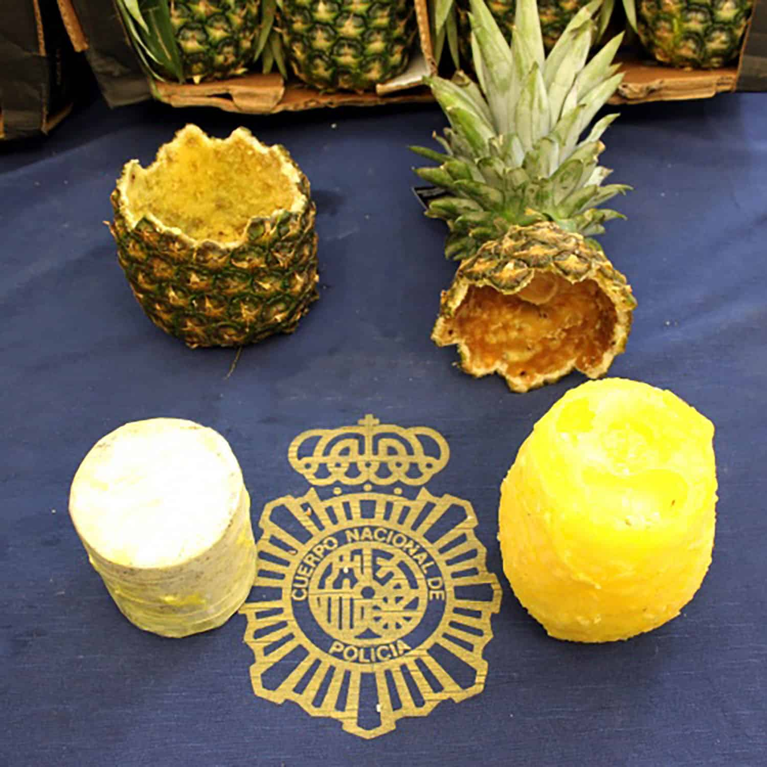 Cocaine-stuffed pineapples shipped from Costa Rica to Europe