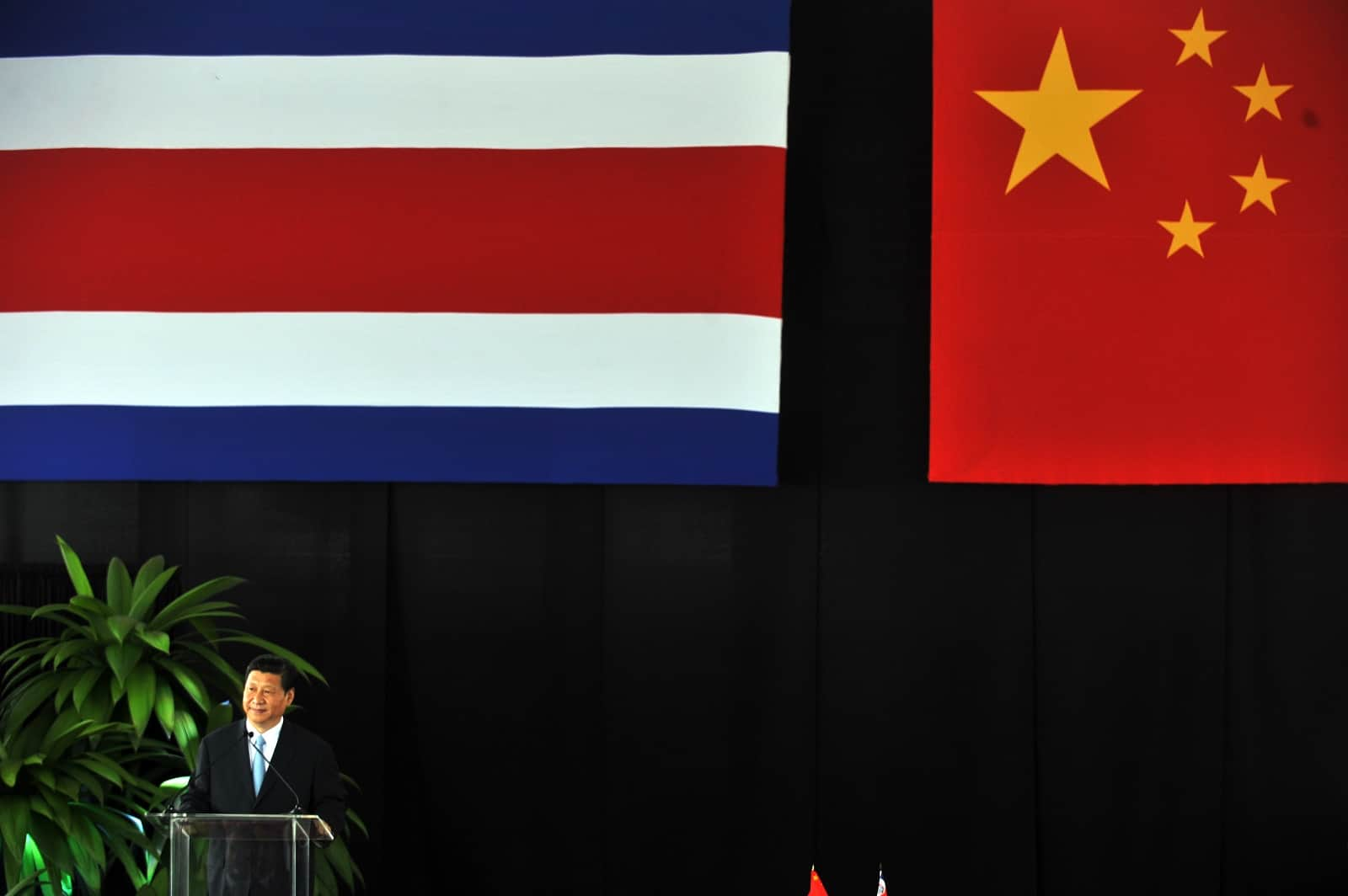 Xi Jinping in Costa Rica