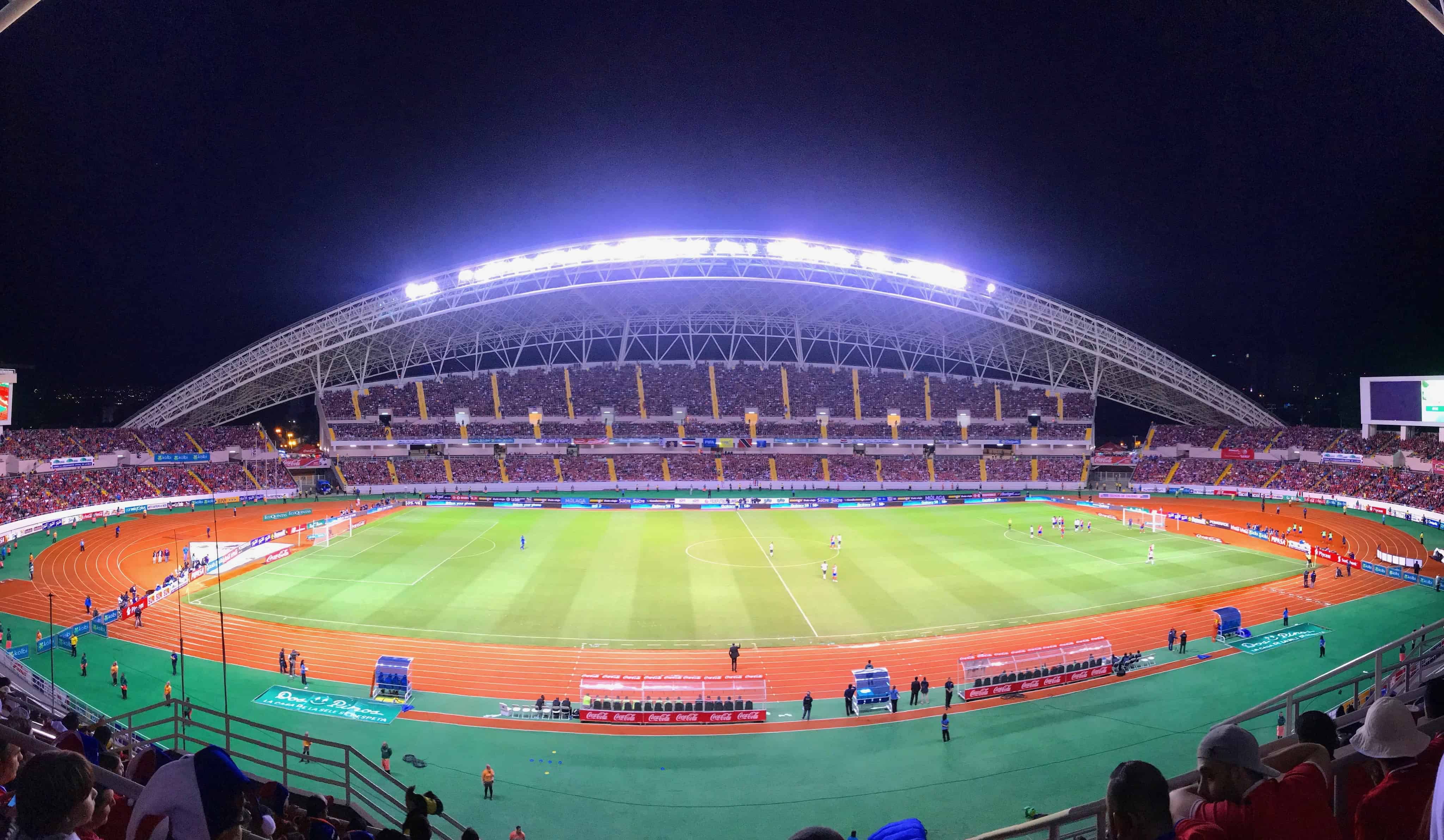 Costa Rica's National Stadium.