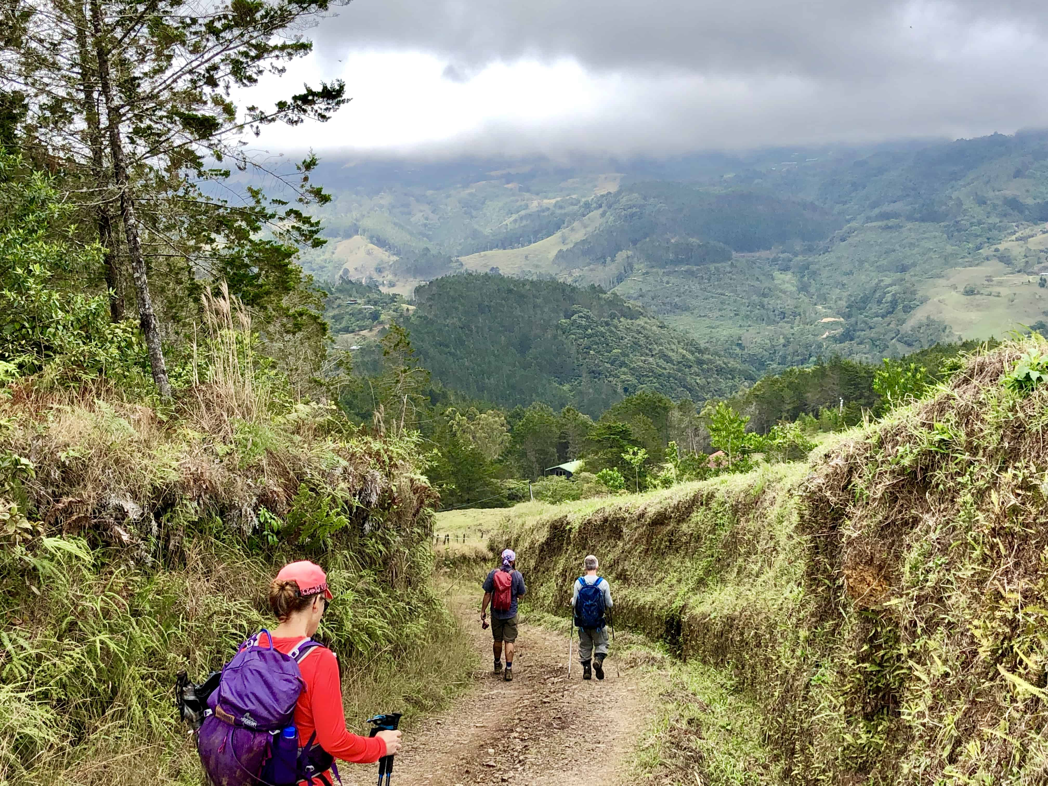 Hiking El Camino de Costa Rica.