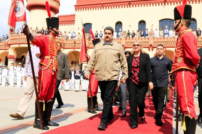 Nicolas Maduro in Venezuela.