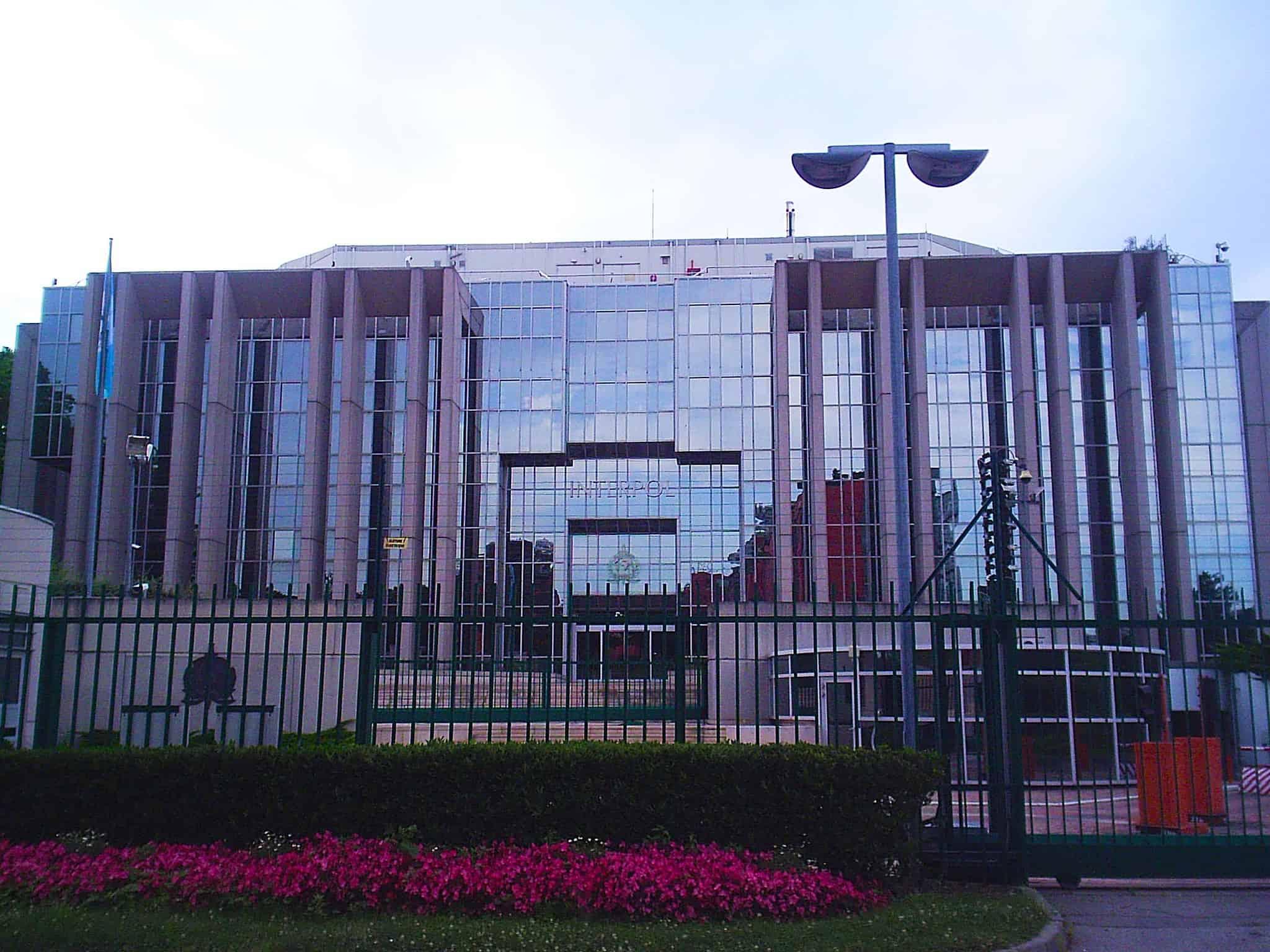 Interpol Headquarters in Lyon, France.