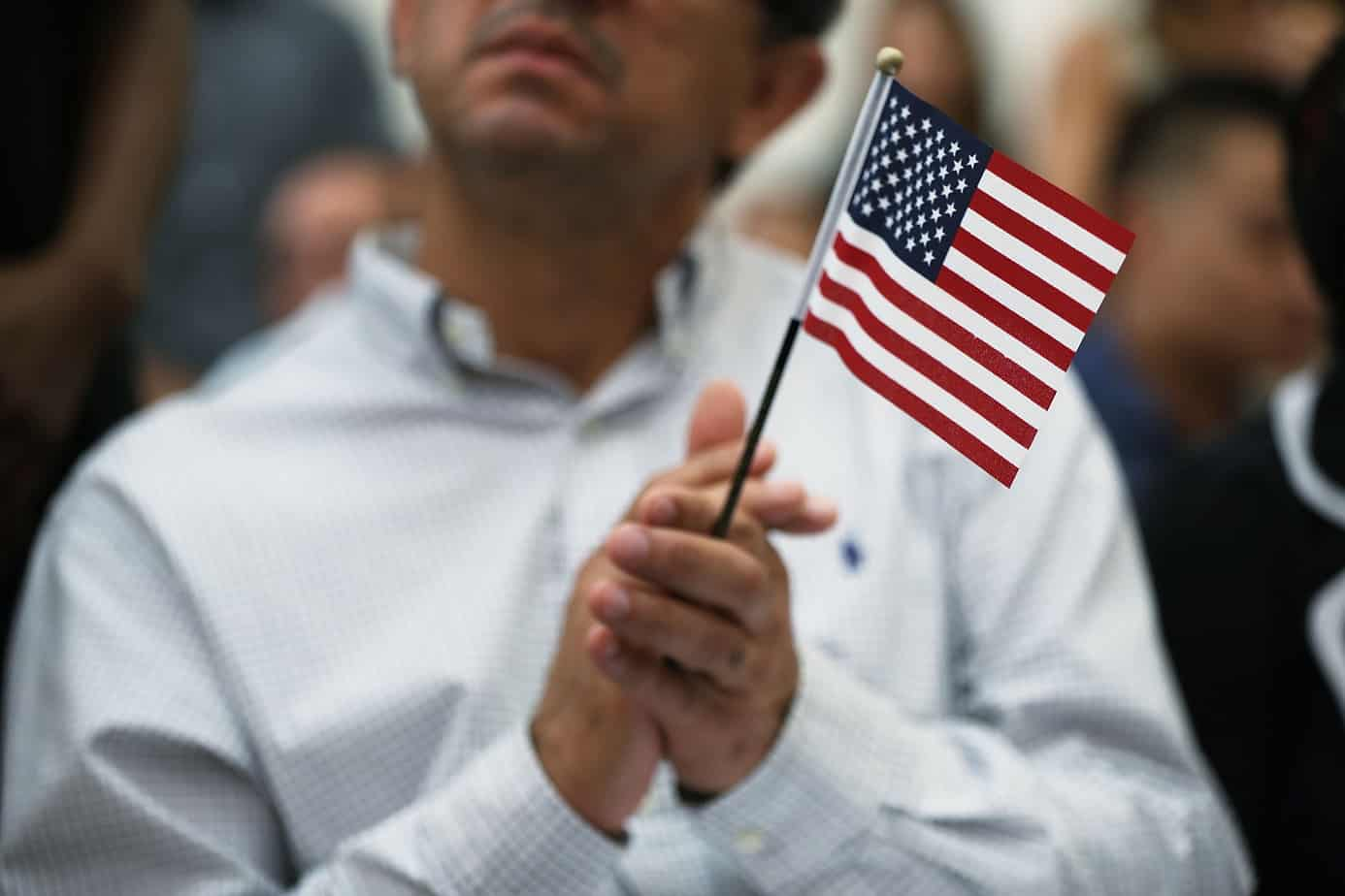 U.S. citizenship ceremony in Miami
