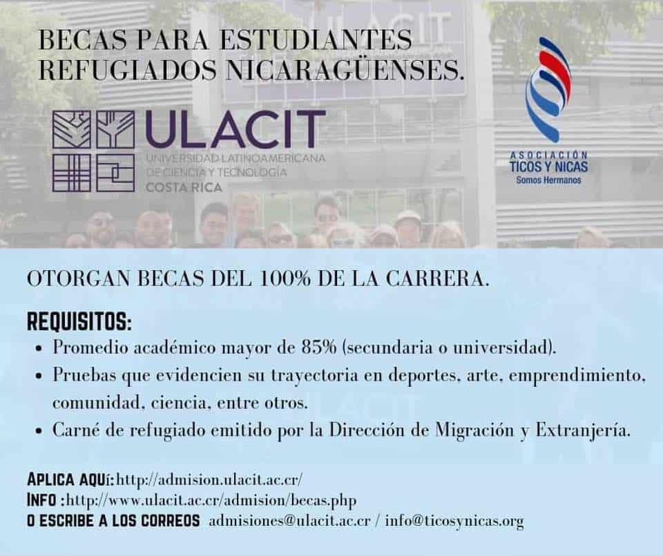 Nicaragua Scholarship