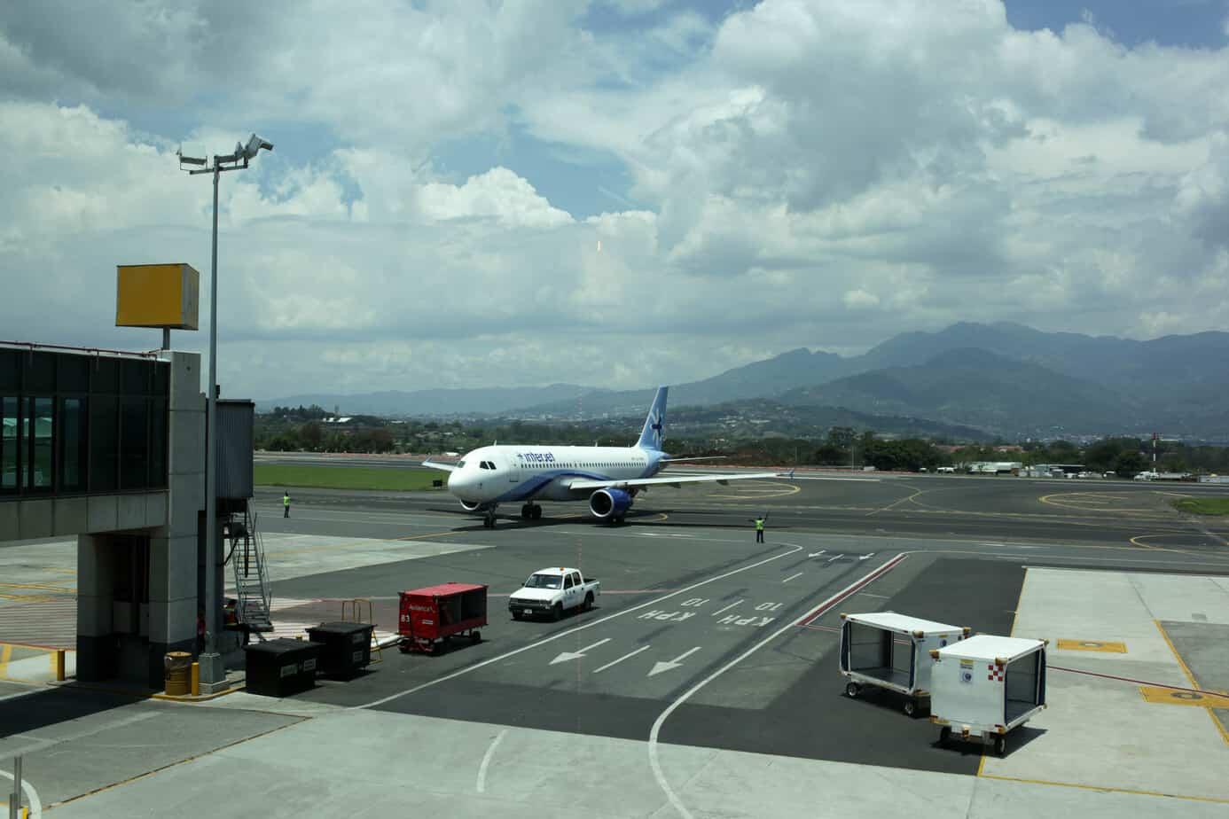 Costa Rica Juan Santamaria Airport