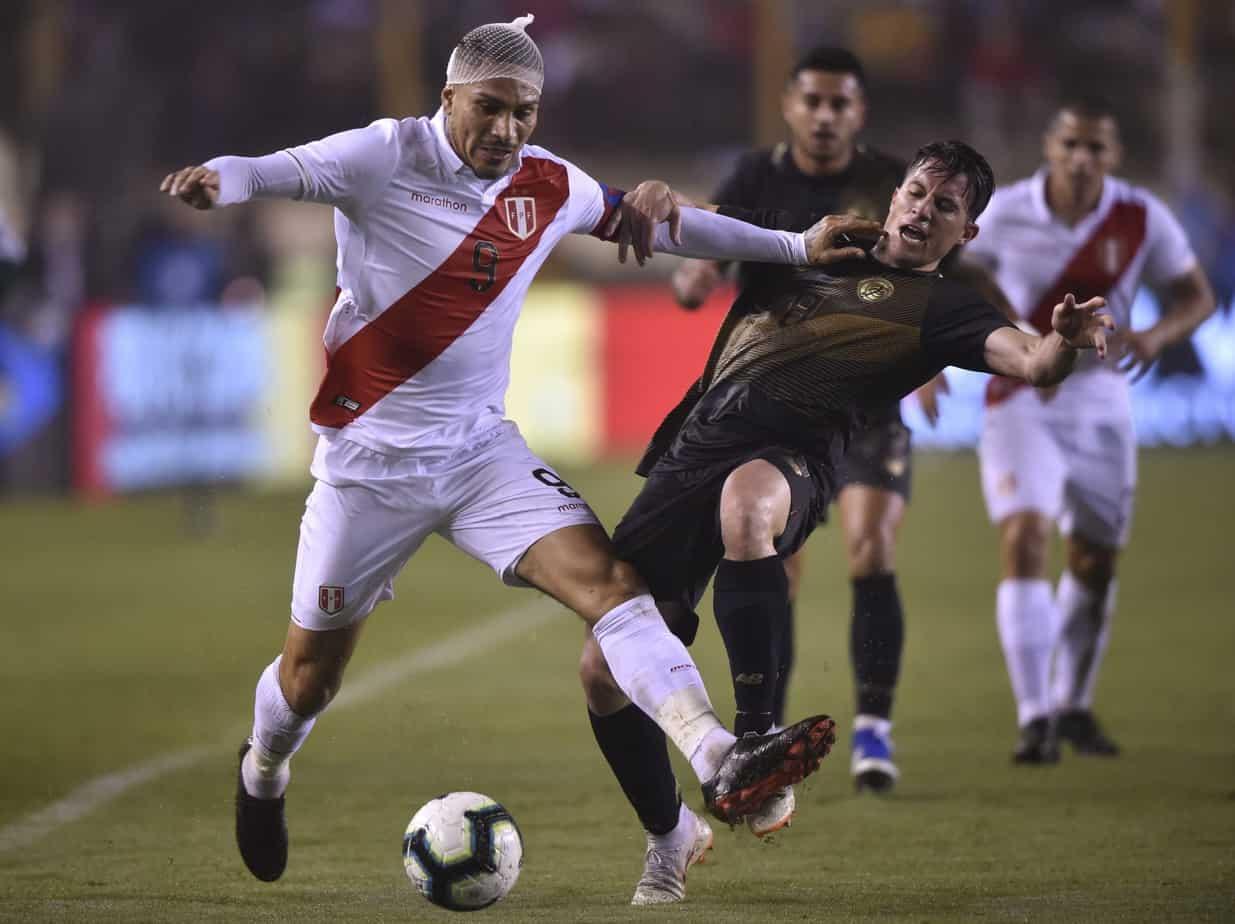 Costa Rica Peru soccer match