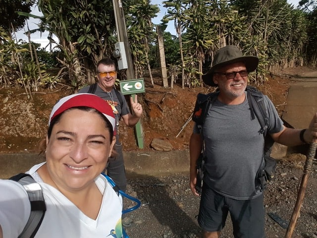 Camino de Costa Rica group