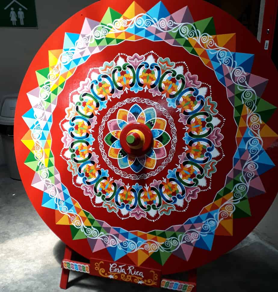 Traditional oxcart wheel