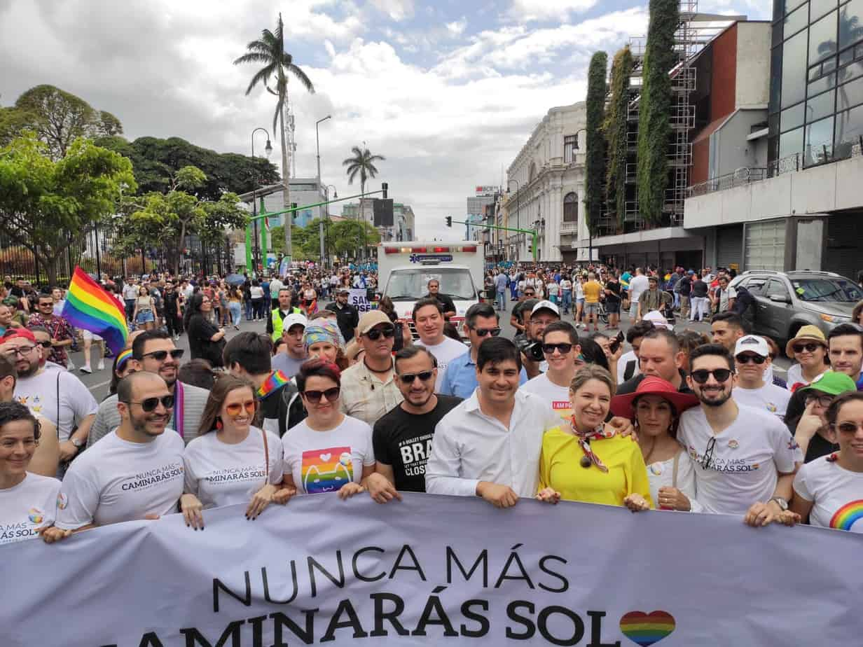 Carlos Alvarado at Pride 2019