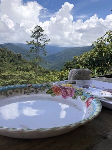 Cuisine on Camino de Costa Rica