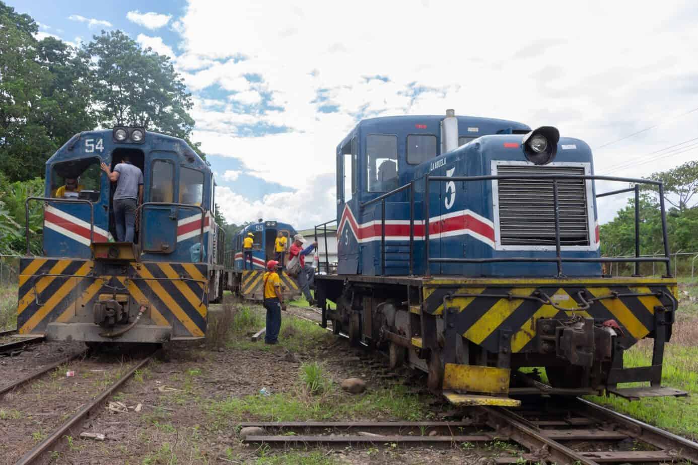 Cargo train Costa Rica