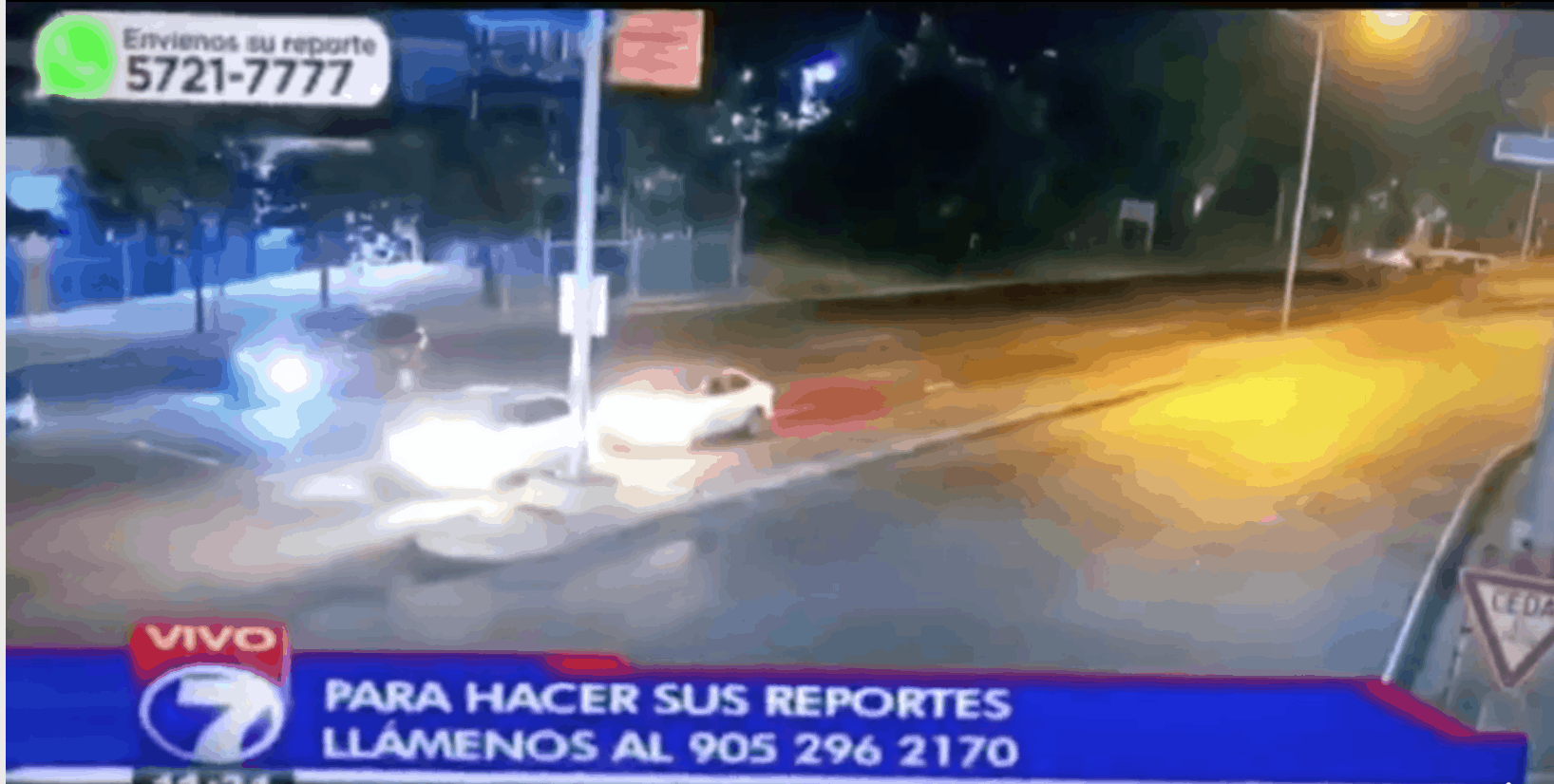 Screenshot of Telenoticias
