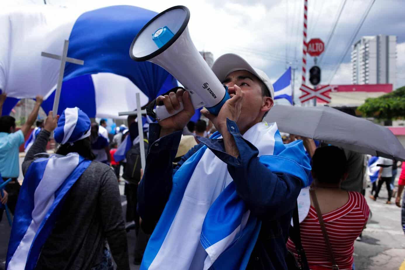 Nicaraguan demonstrations in Costa Rica