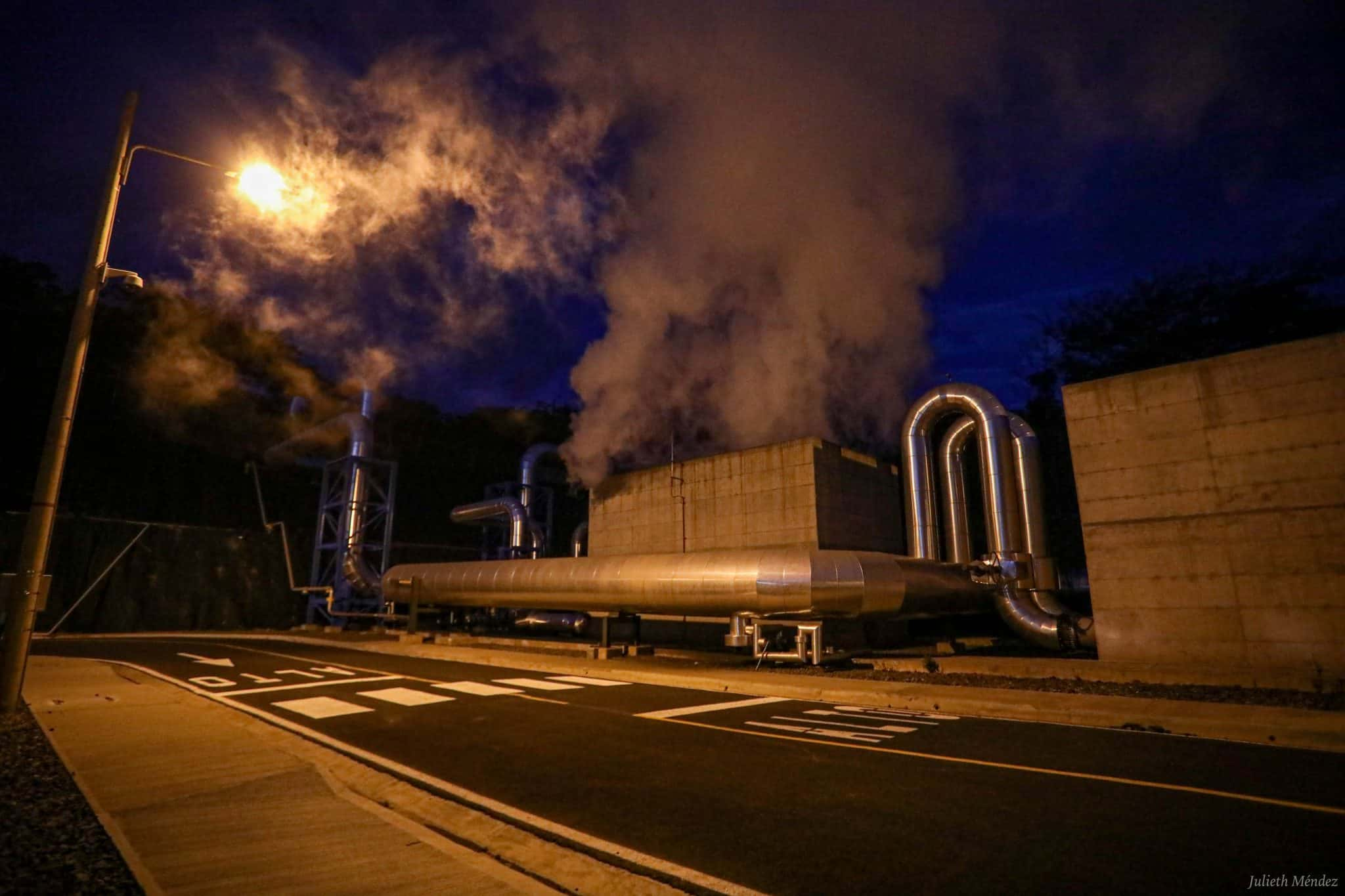 Las Pailas Geothermal Plant