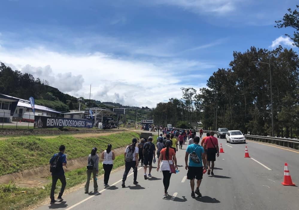 Romeros complete the trek toward Cartago