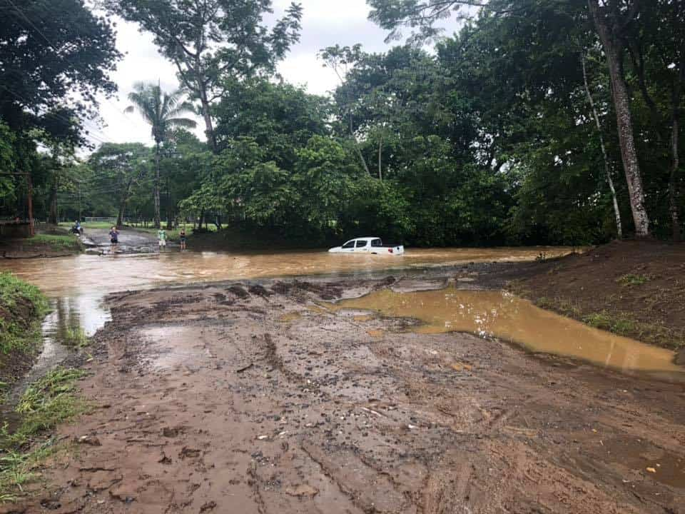 Ostional, Guanacaste flooding