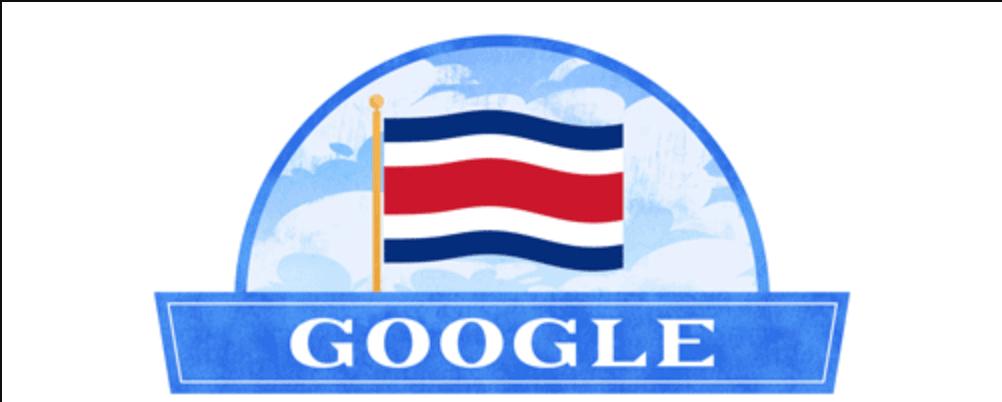 Costa Rica Google Doodle