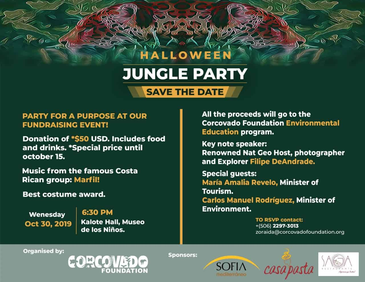 Corcovado Foundation Party