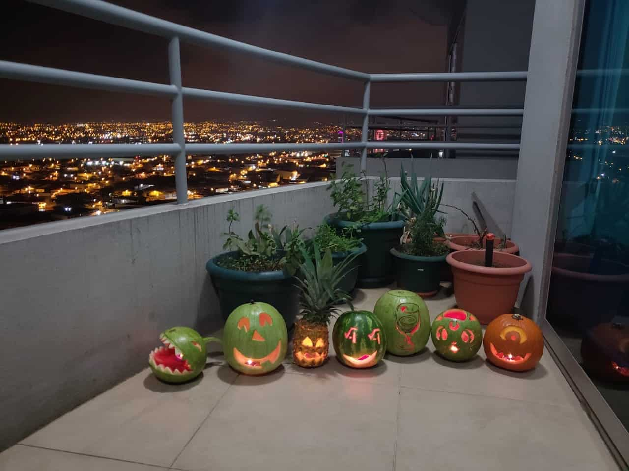 Alternative pumpkins in Costa Rica