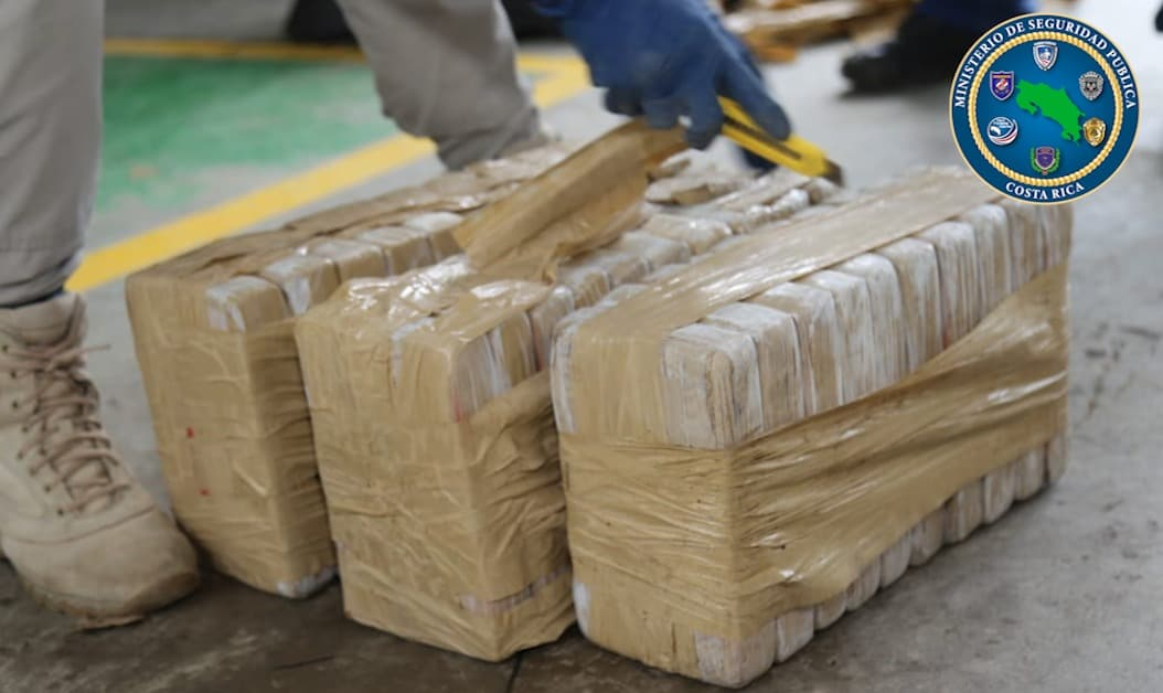 Costa Rica cocaine bust