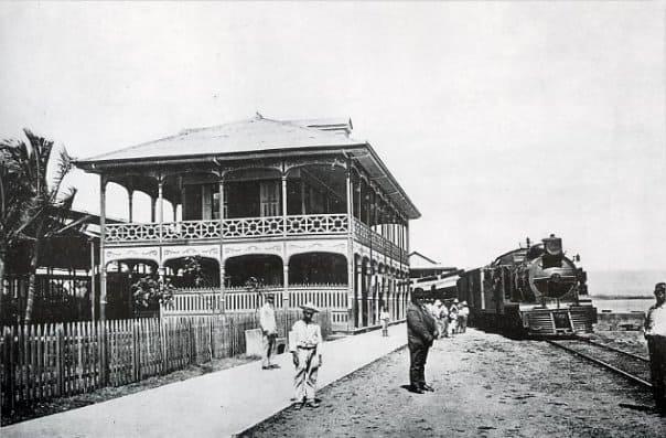 Ferrocarril al Pacífico in Puntarenas