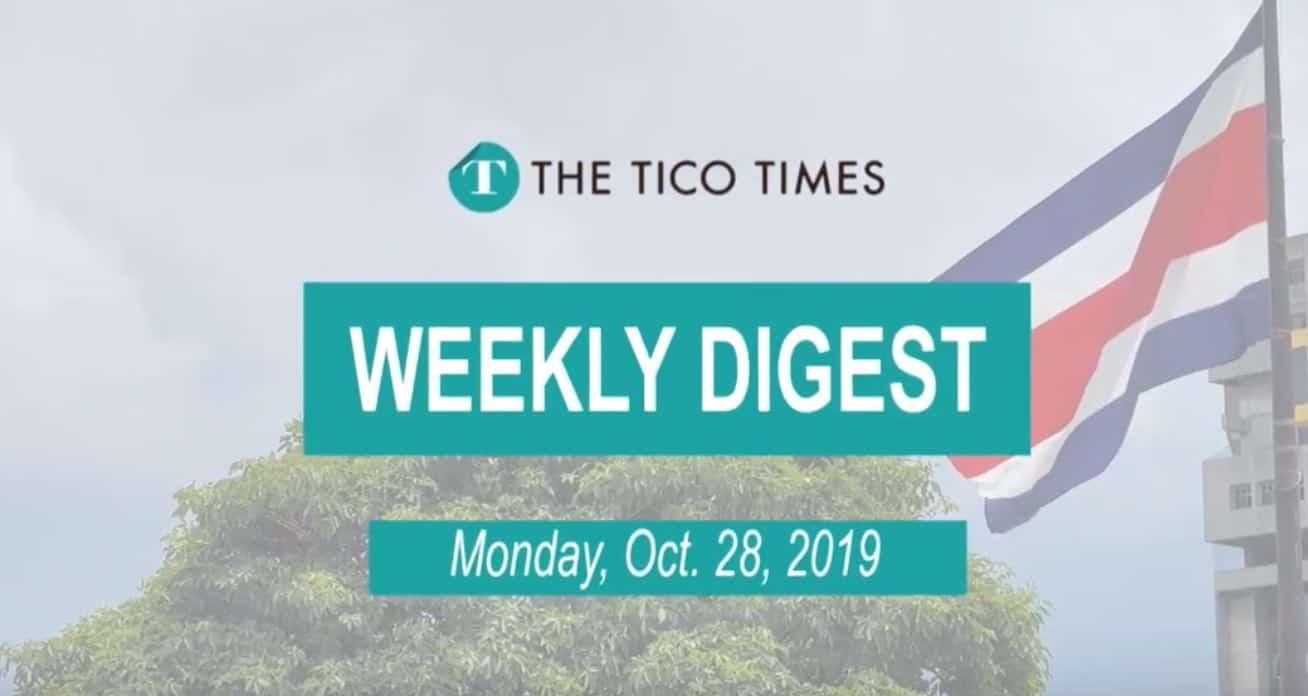 Tico Times Weekly Digest