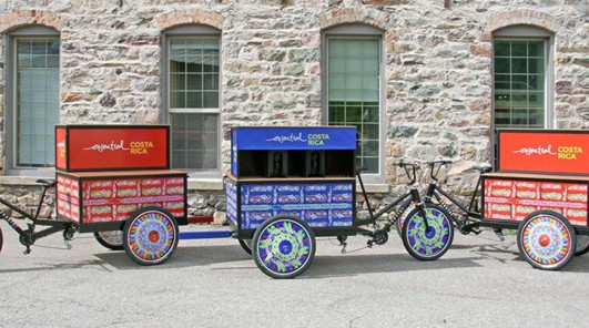 Oxcart-themed bicycles