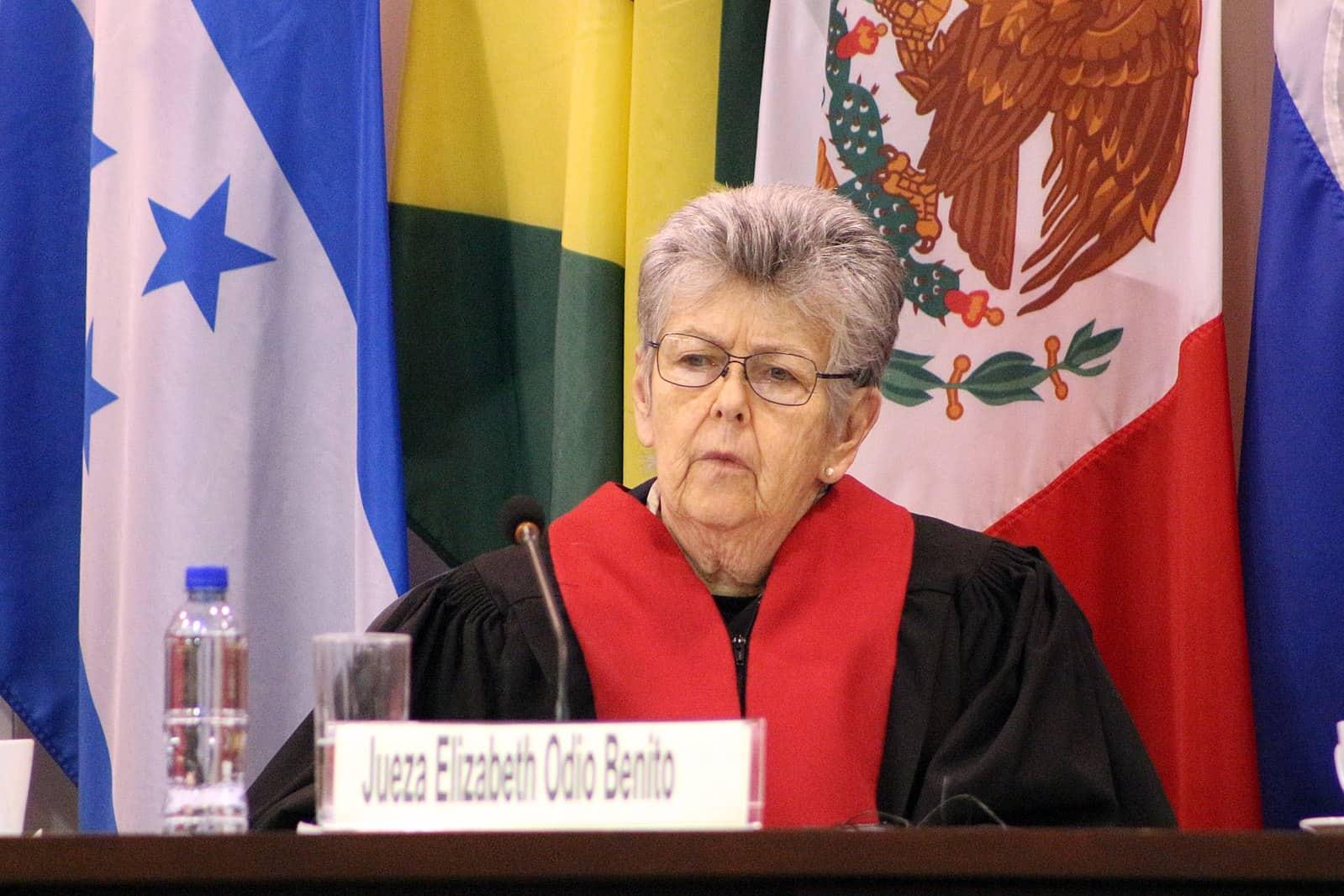 Jueza de la Corte IDH, Elizabeth Odio Benito