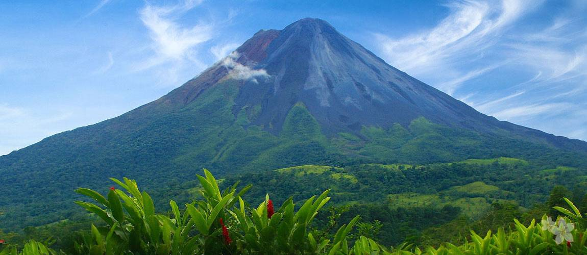 Arenal Volcano in 2012