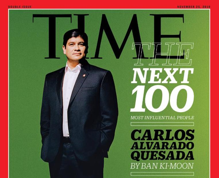 Carlos Alvarado was recognized among TIME's 100 Next