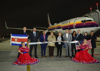 American Airlines inaugurates new service to Costa Rica