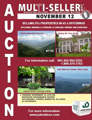 Costa Rica Real Estate Auction