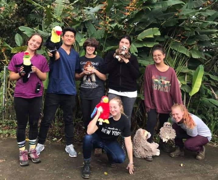 Toucan Rescue Ranch staff