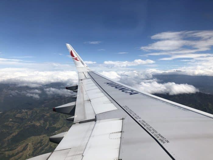 Descending into Costa Rica