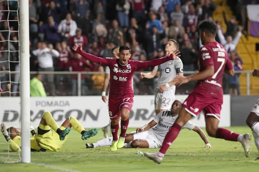 Deportivo Saprissa's Ariel Rodriguez