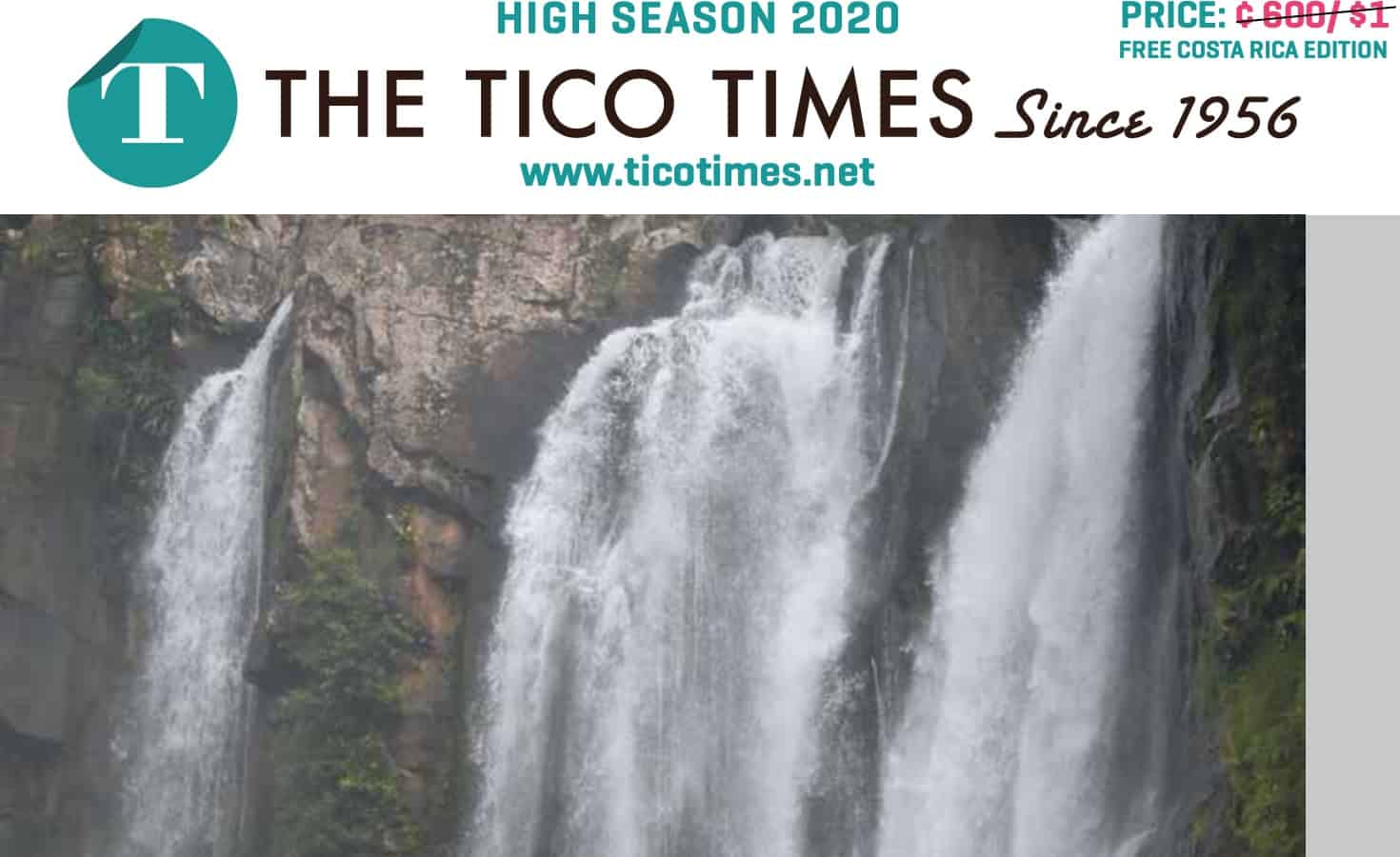 Tico Times print edition
