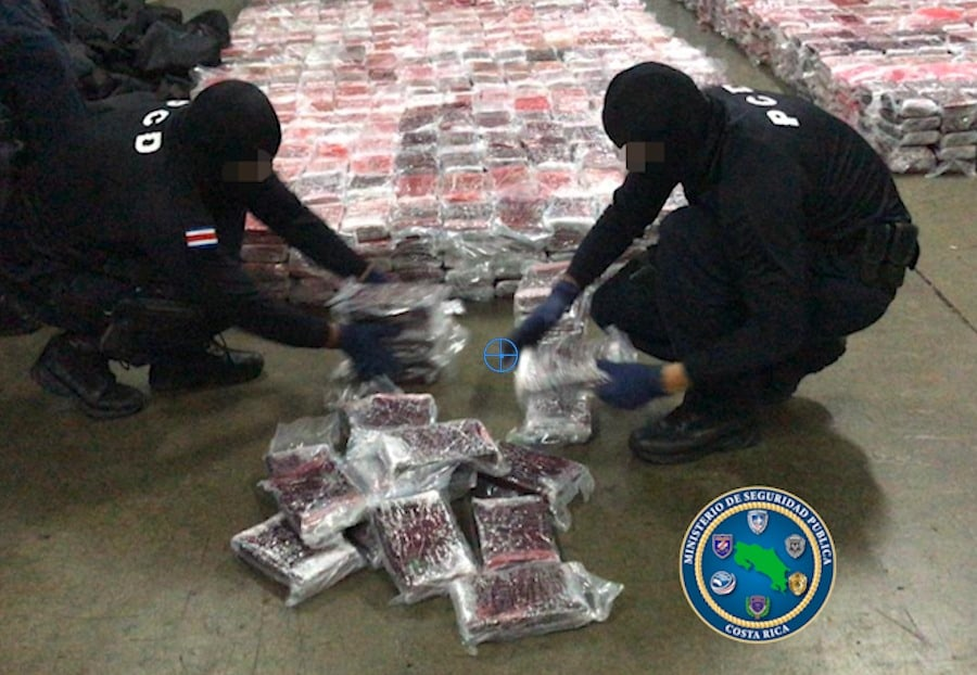 cocaine seizure Costa Rica