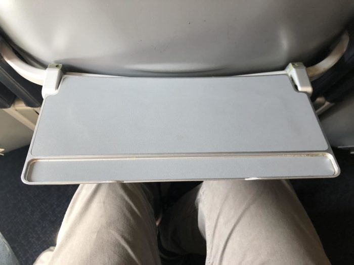 "Spirit Airlines ""tray table"""