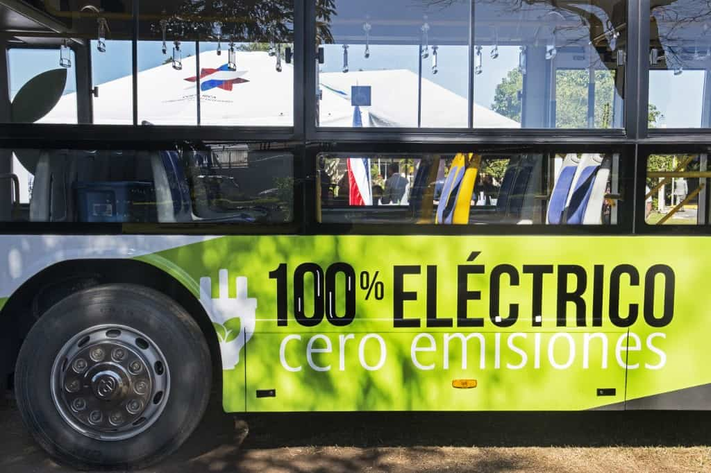 Costa Rica electric bus