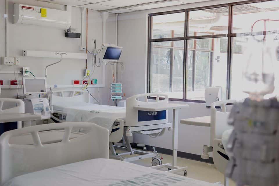 Coronavirus hospital at CENARE