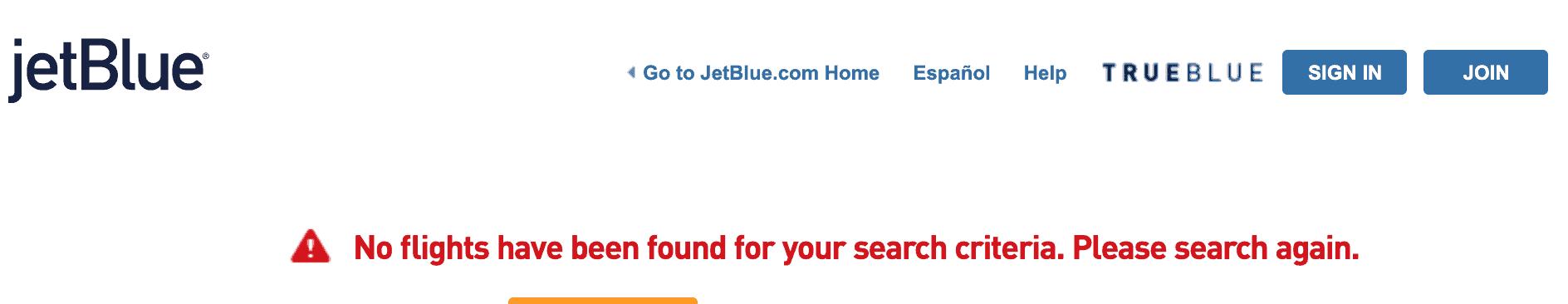 JetBlue coronavirus